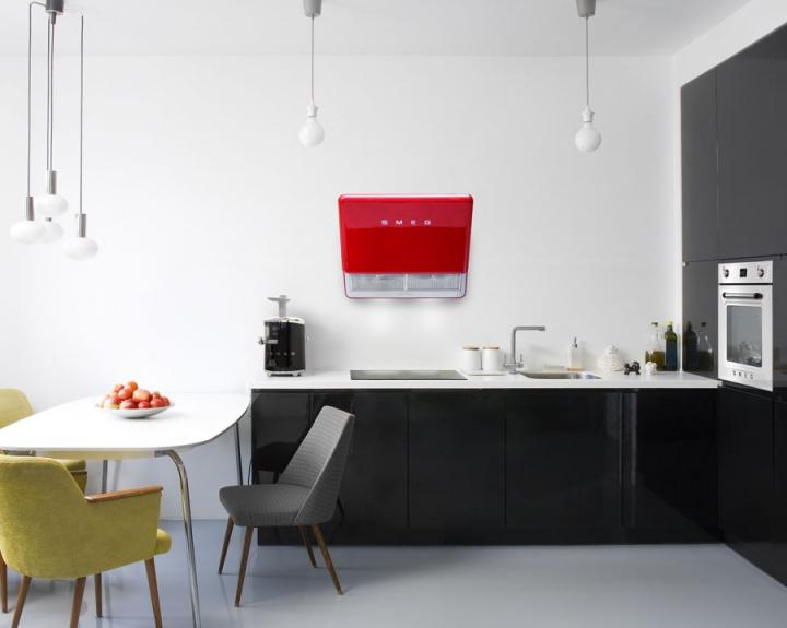 Smeg Kühlschrank Schweiz : Smeg stellt neue dunstabzugshauben im retro stil der er jahre