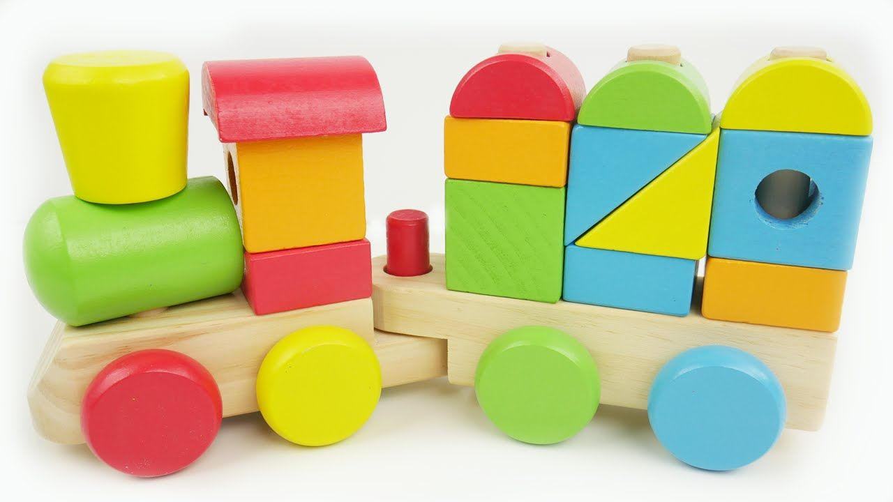 Learn Colors Shapes Counting with Preschool Toy Train Best Learning ...
