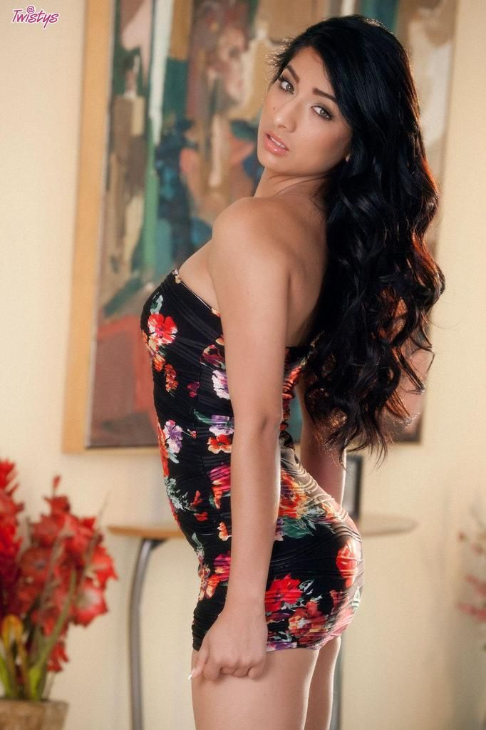 Busty latina takes on