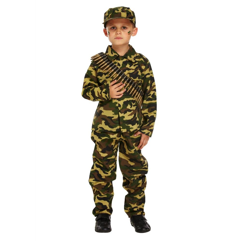 KIDS BASEBALL HAT CAP CAMO ARMY MILITARY SOLDIER FANCY DRESS COMBAT KIDS