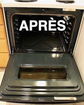 La Recette Incroyable Pour Nettoyer Un Four Très Très Sale SANS SE FATIGUER