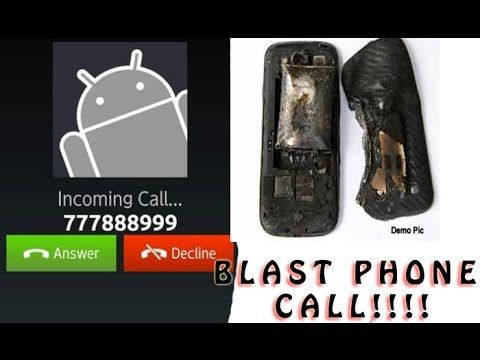 777888999 Phone Call Can Blast Your Mobile Phone !! Reality Must