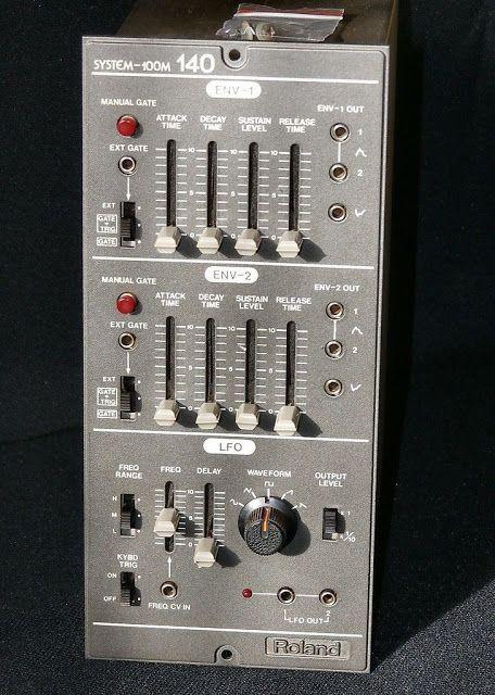 MATRIXSYNTH: Roland 100M 140 Dual ADSR/ Envelope Generator/LFO