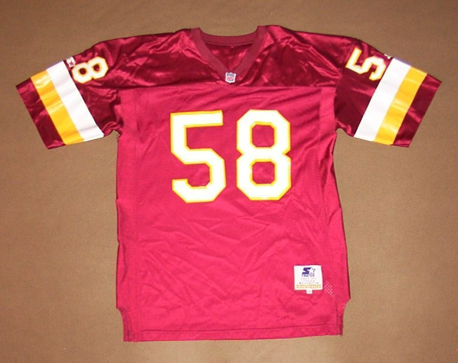 new product 77e9a 20d96 VINTAGE Washington Redskins JERSEY Wilber Marshall STARTER ...