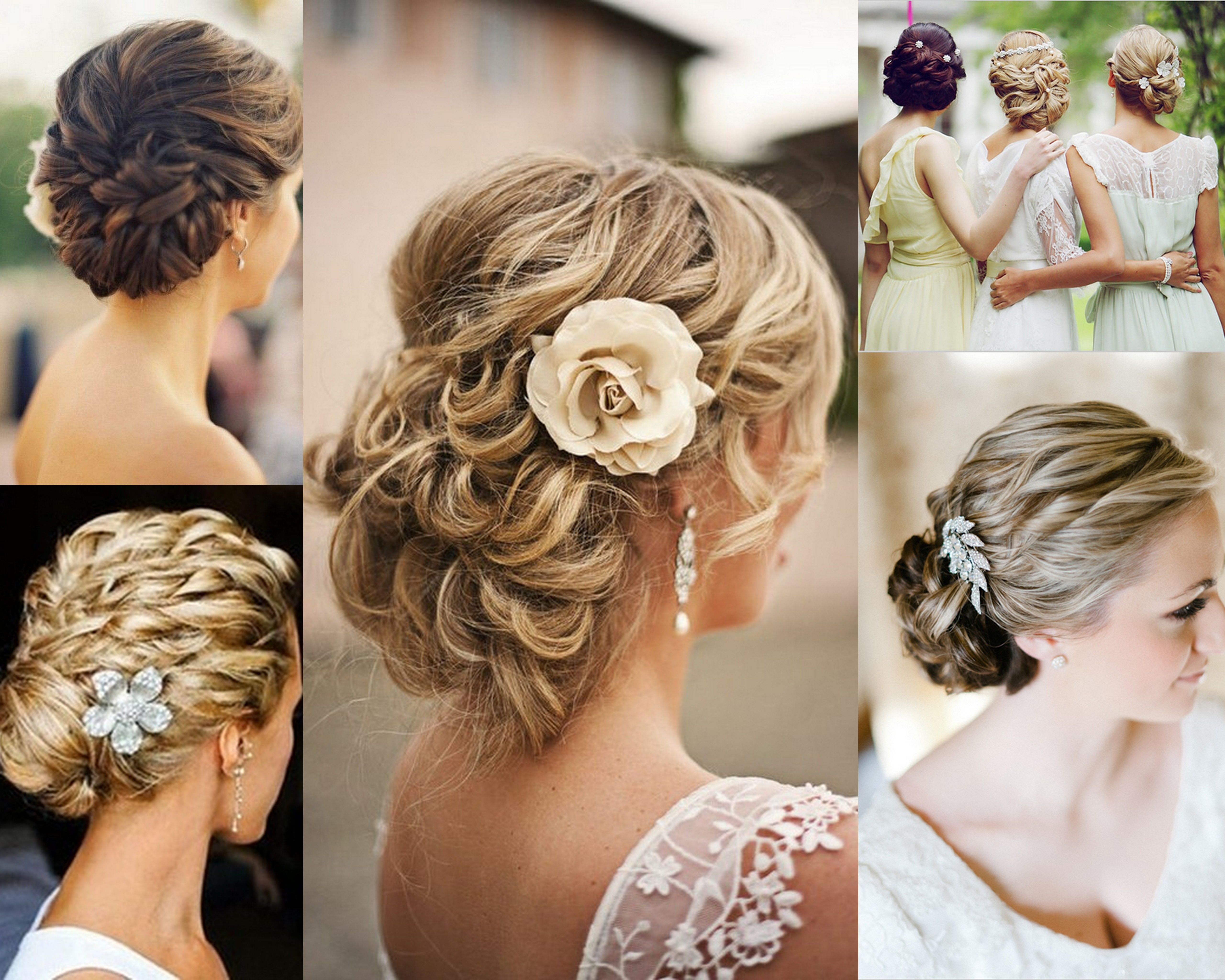 Surprising 1000 Images About Bridal Hairstyles On Pinterest Bridal Hairstyle Inspiration Daily Dogsangcom