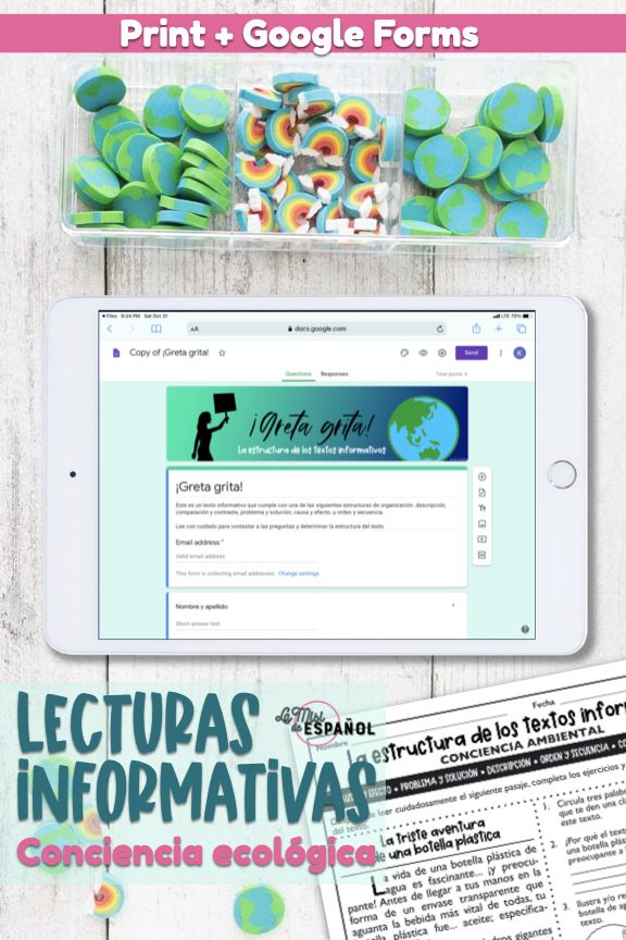 12 Lectura Reading Ideas In 2021 Middle School Spanish Español Language Language Arts Resources