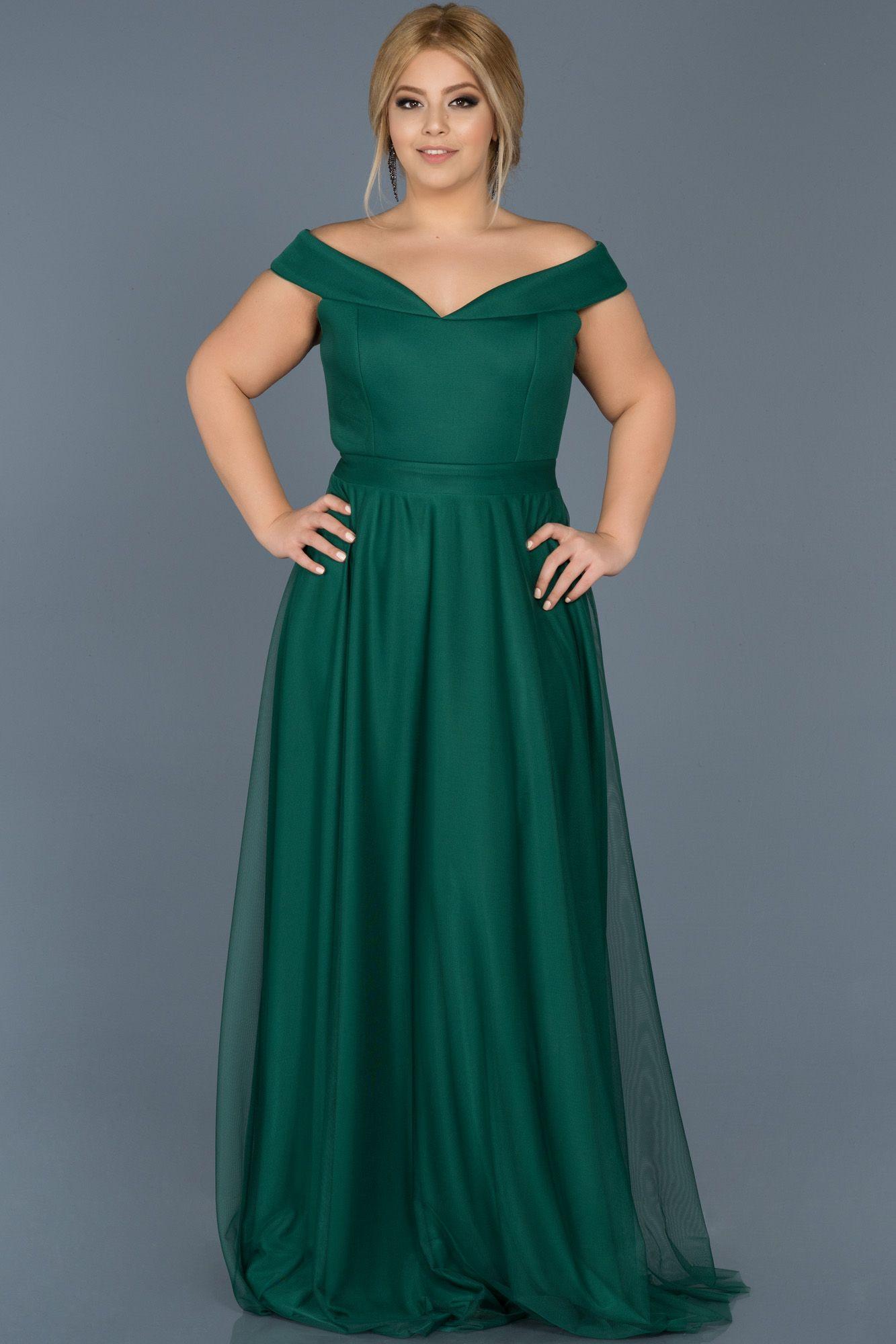 Ordek Basi Kayik Yaka Buyuk Beden Elbise Abu020 Abiyefon Com 2020 The Dress Elbise Aksamustu Giysileri