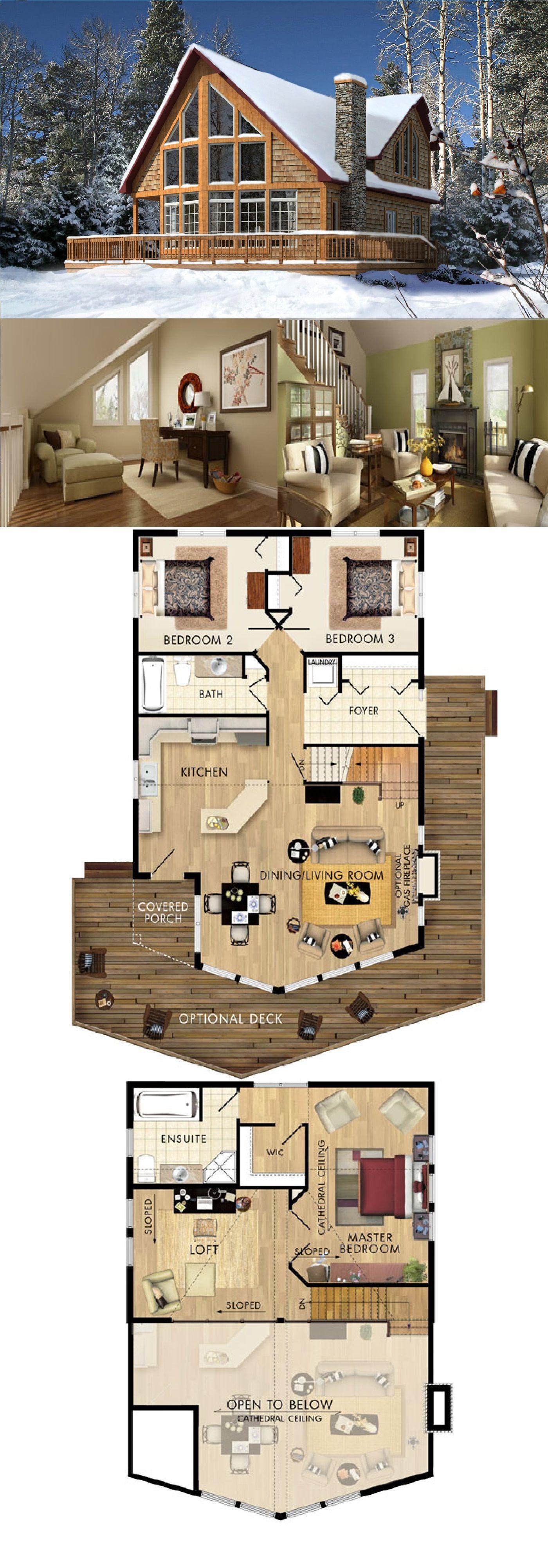 Beaver Homes & Cottages - Beauport II :: 1600 sq. ft. | Cabañas de ...