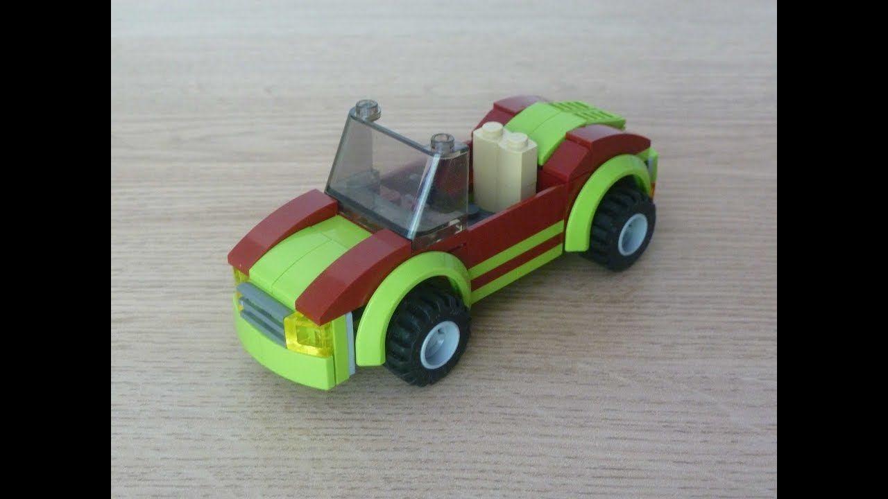 Sport Build Love A Car To Instructions Lego Tutorial How MocLego® EDH92I