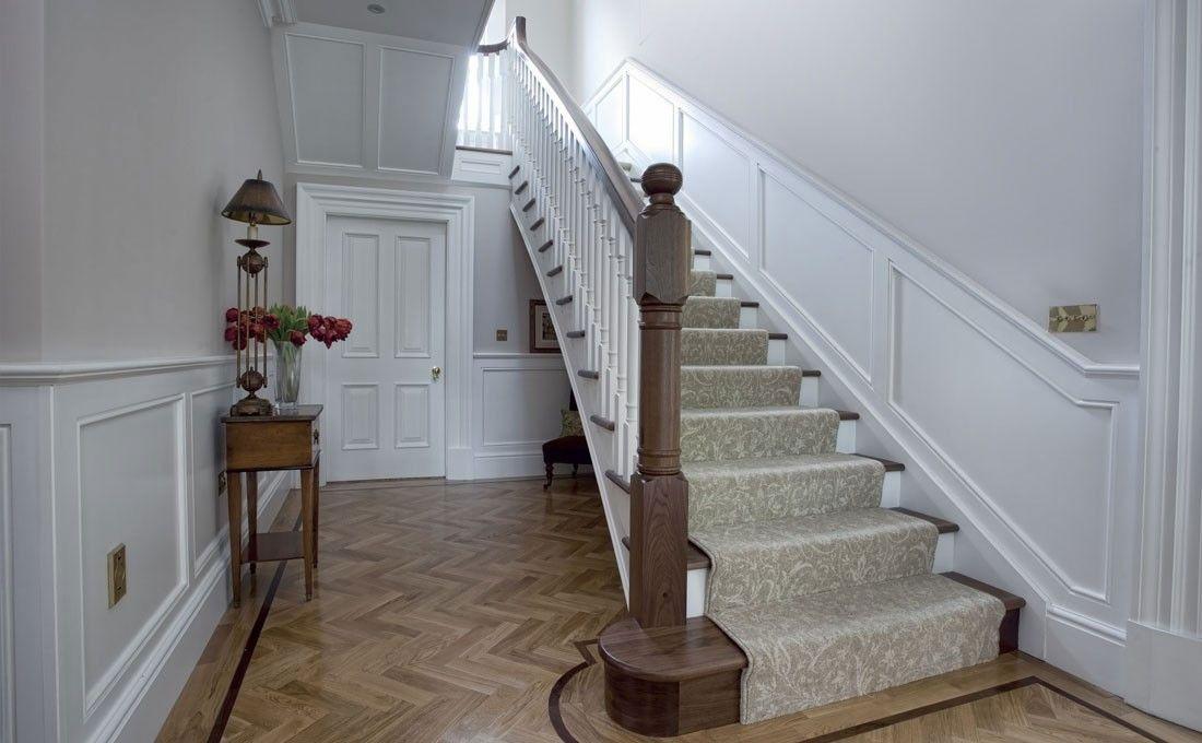 Lighting Basement Washroom Stairs: Stairs White Paneling - Szukaj W Google