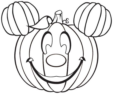 Disney Halloween Coloring Pages Disney Craft Ideas For Kids