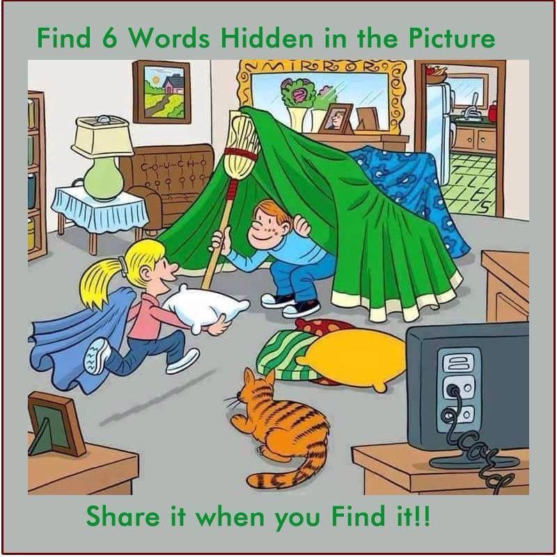 Find the words Hidden words