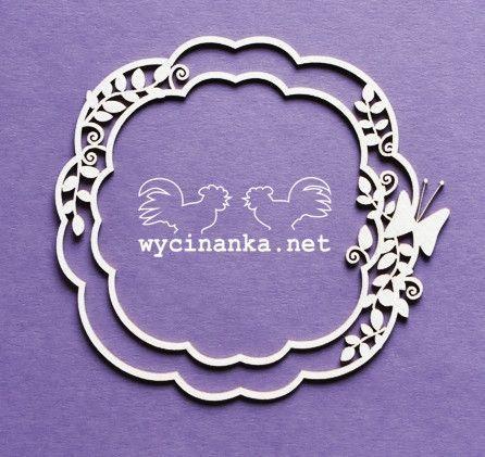Wycinanka Summer Fresh Frame 7