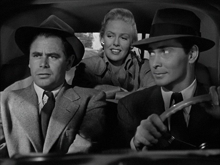 Framed (1947), Film Noir, Glenn Ford. Barry Sullivan, Janis Carter ...