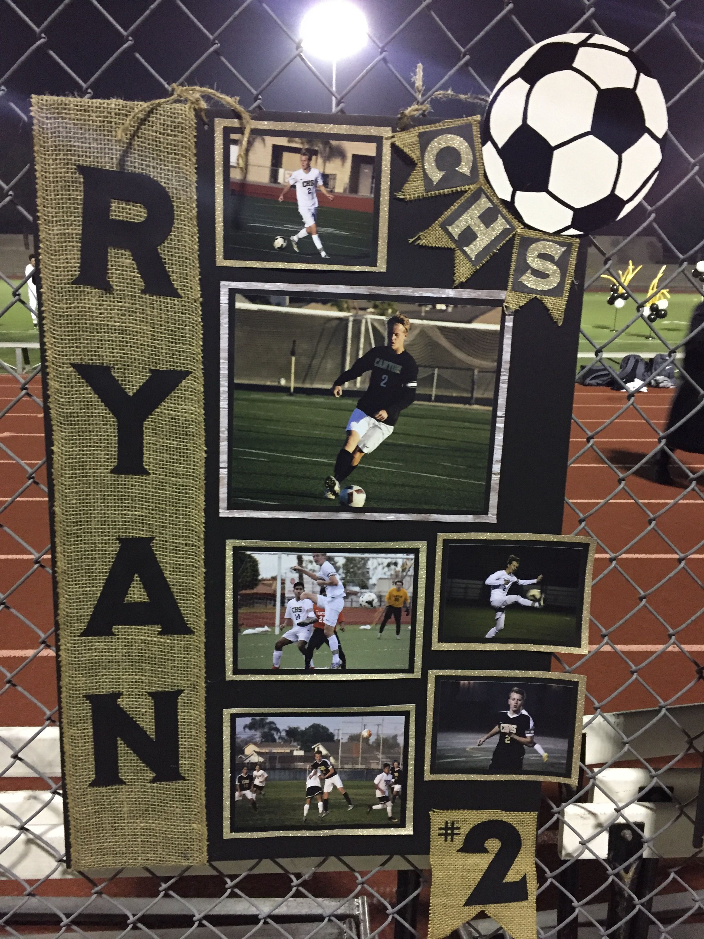 Soccer Senior Night Soccer Senior Night Posters Soccer Senior Night Volleyball Senior Night