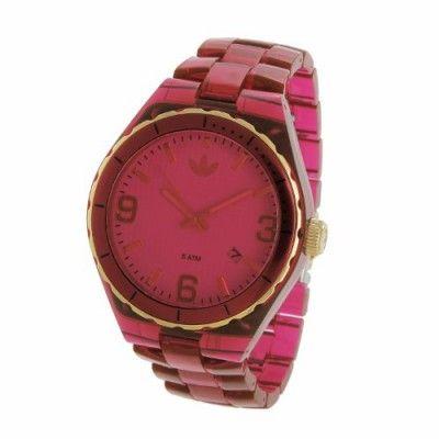 93165ed8b3a Relógio Adidas Cambridge Red Translucent Unisex Watch ADH2554  Relogio   Adidas