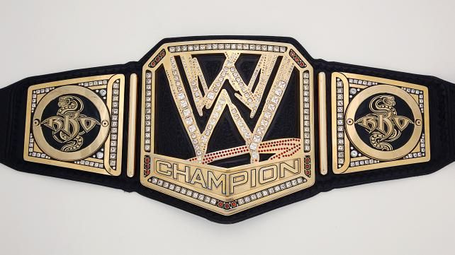 An Exclusive Look At Wwe Champion Randy Orton S New Title Plates Photos Wwe Champions Wwe World World Heavyweight Championship