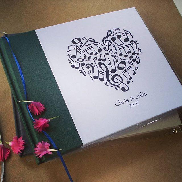 Musical Wedding Guest Book · Guest Book for Musicians · Musician\'s ...