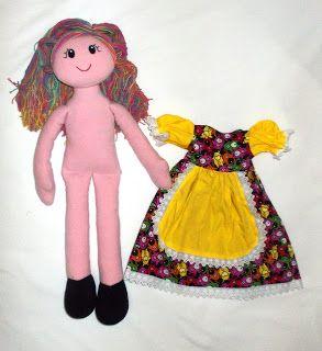 Cheer Up Your Kids: Como Lavar como artesanal boneca de pano bonecos UO