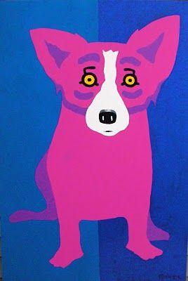 37 Blue Dog Paintings Ideas Blue Dog Dog Paintings Blue Dog Art