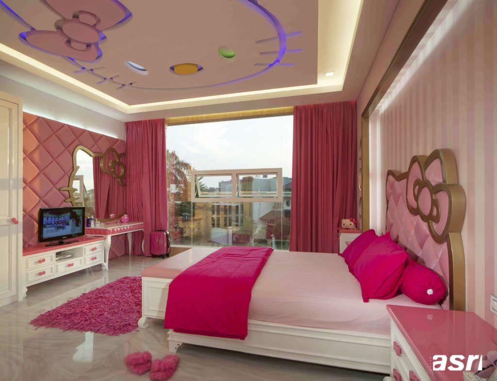 Desain Plafon Untuk Kamar Anak Dekor N Art Pinterest Bed Room