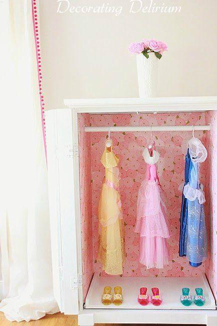 Birthday Girl 3 | Dress up closet, Armoire decorating ...