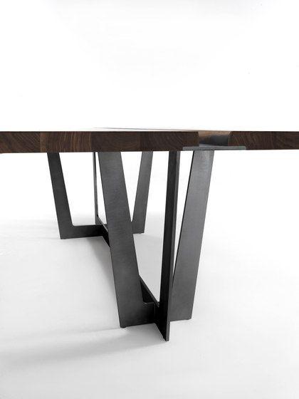 Rialto Table By Riva 1920 Marble Furniture Design Steel Furniture Design Walnut Table