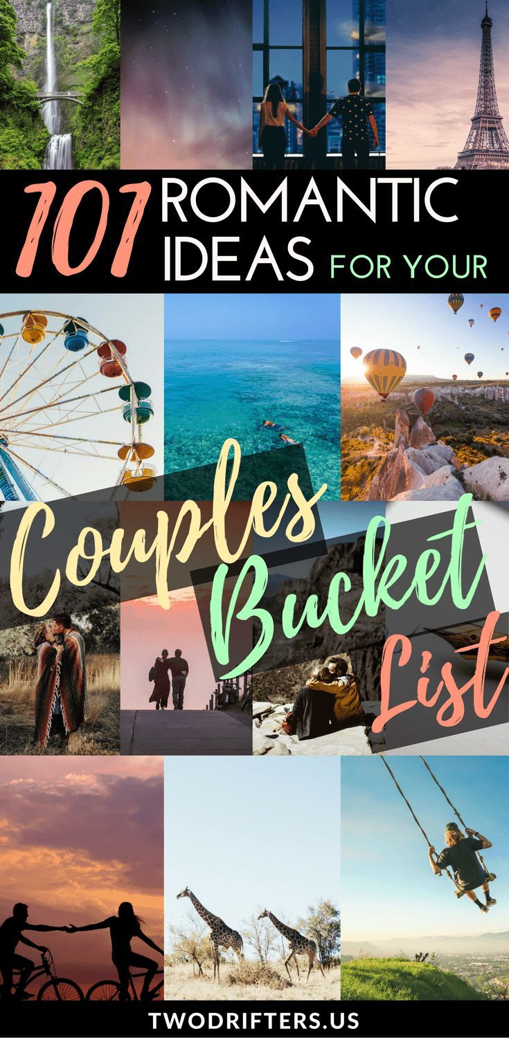 101 Bucket List Ideas for Couples – The Best in Romance & Adventure