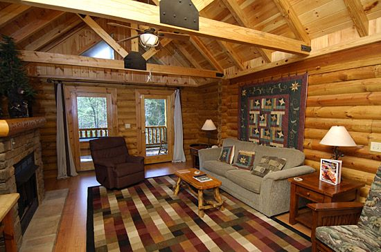 Small Cabins In Gatlinburg Tn | Dancing Bear   2 Bedroom Cabin   Totally  Private!