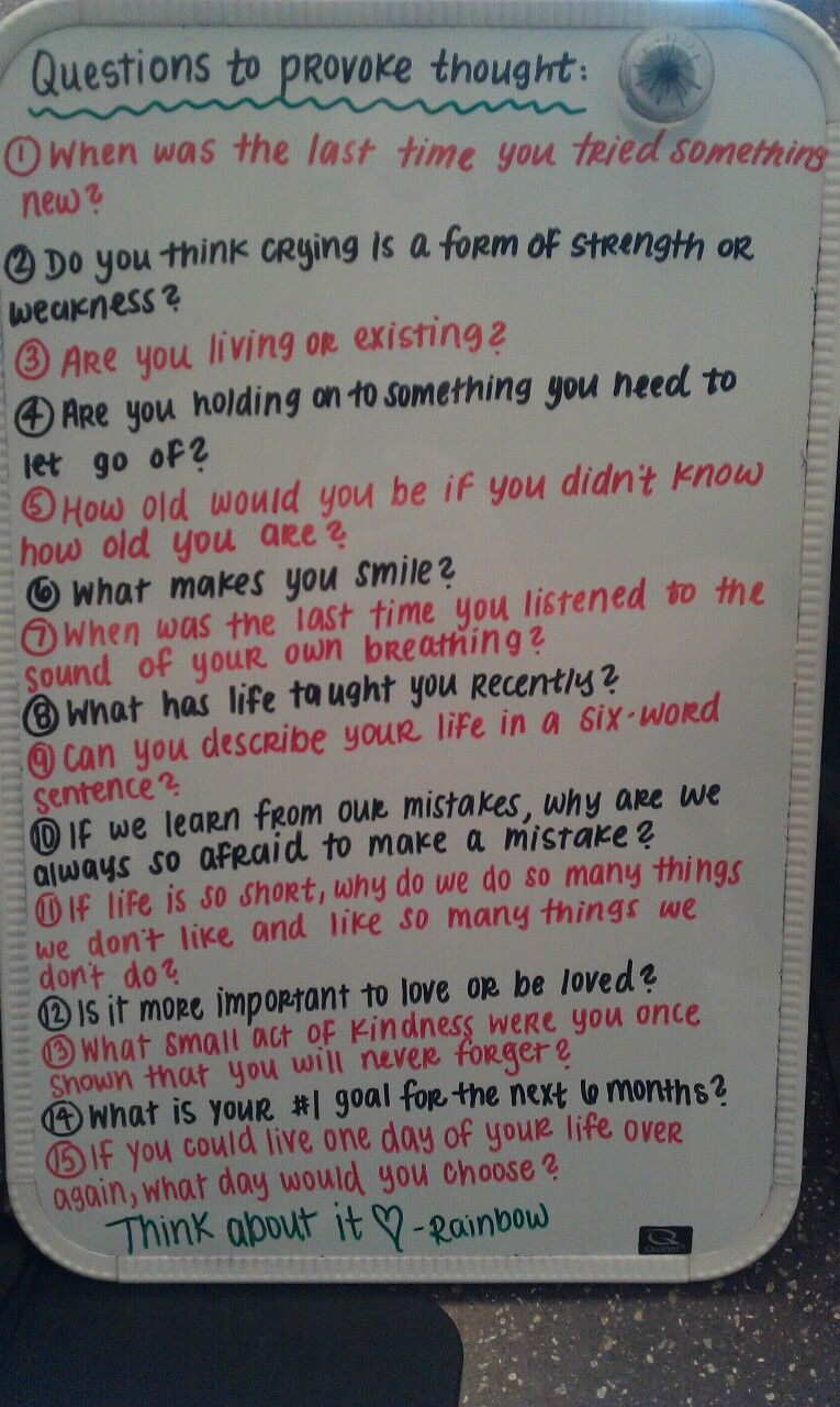 Questions to ask a girl your not dating