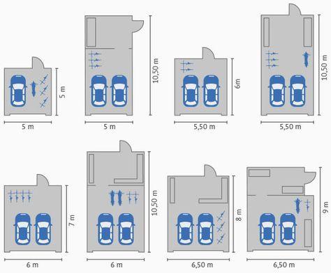 Großraumgaragen Maße » Beratung & Angebote Haus mit
