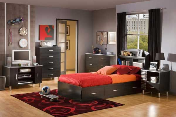 teen boy bedroom design ideas | modern boys bedroom ideas