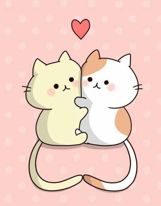 «Кавайные картинки котиков для срисовки» — карточка ...