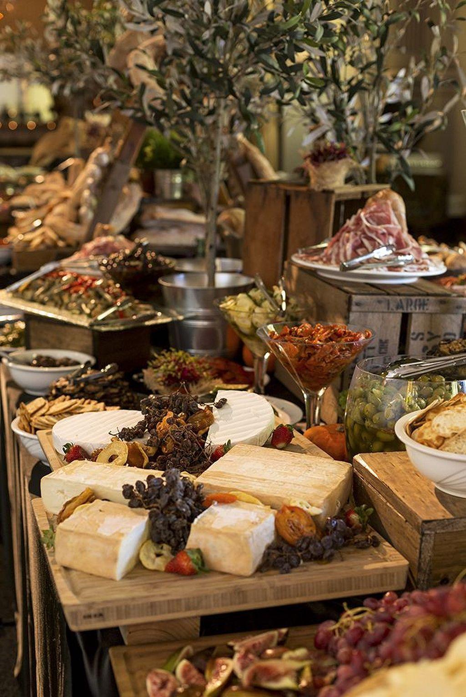21 Awesome Rustic Food Display