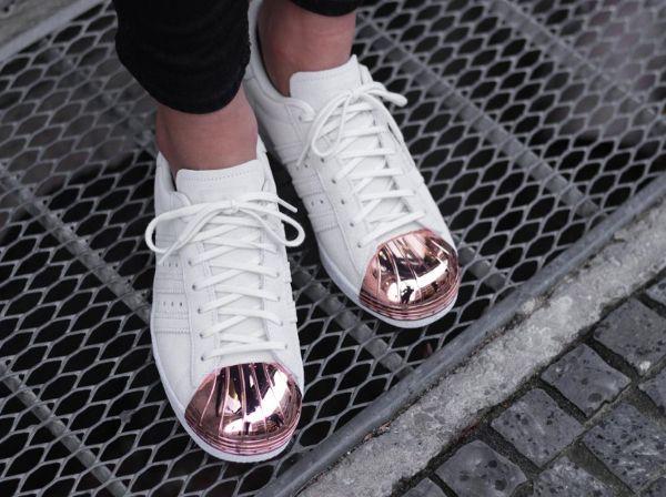adidas superstar femme cuivre