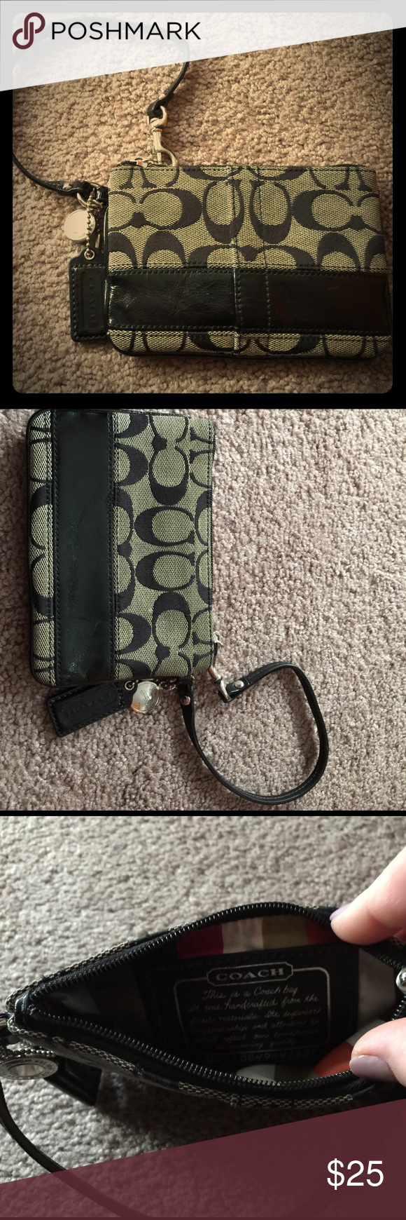 Coach wristlet Used wristlet. Make an offer. Coach Bags Clutches & Wristlets