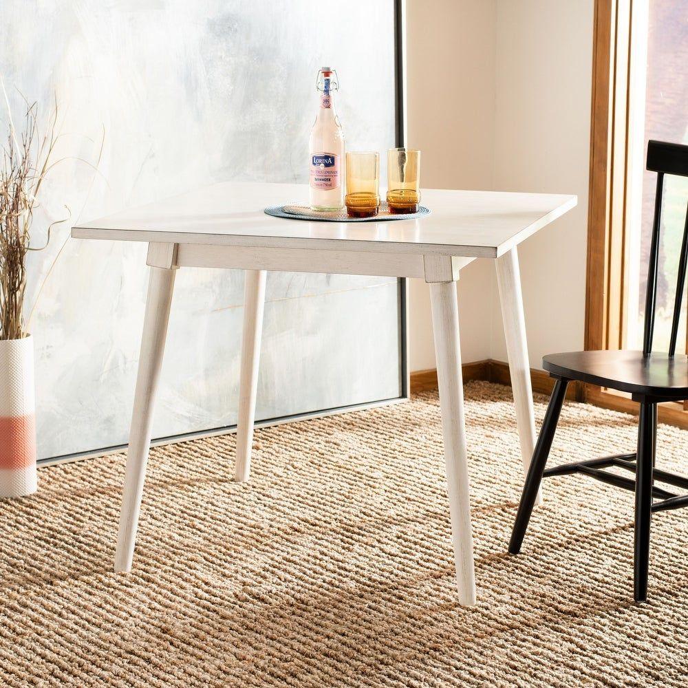 Safavieh Simone Square Dining Table Antique White 36 X 36 X