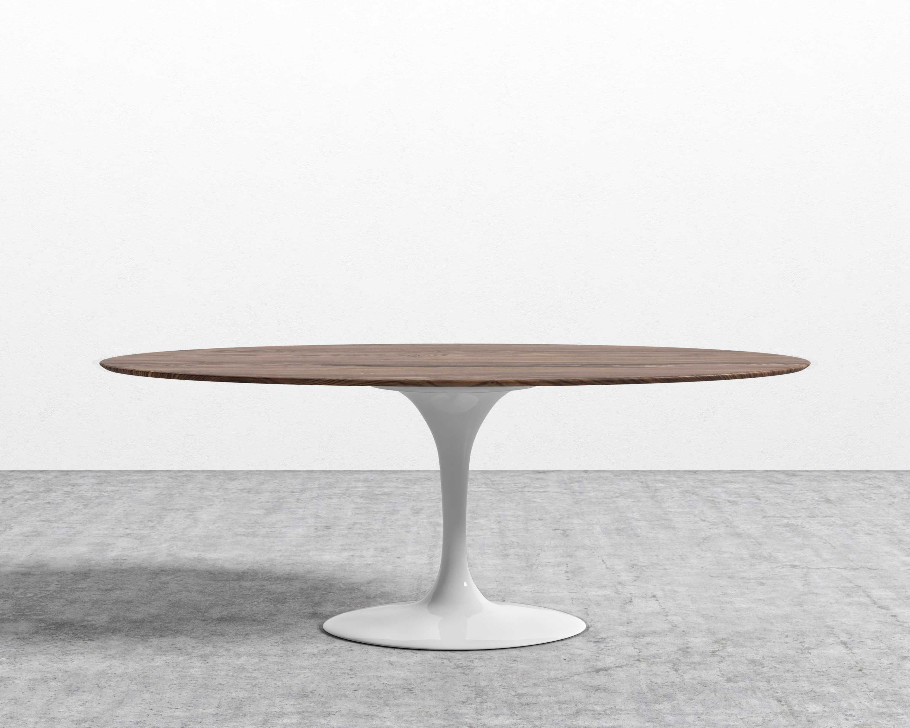 Tulip Table Oval Walnut Rove Concepts Rove Classics Mid Century Furniture Tulip Dining Table Tulip Table Oval Table Dining