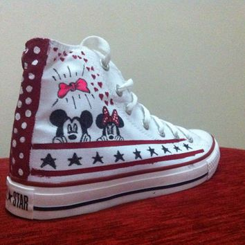 Converse On SneakersShoes Disney By Denimtrend 7bfg6y