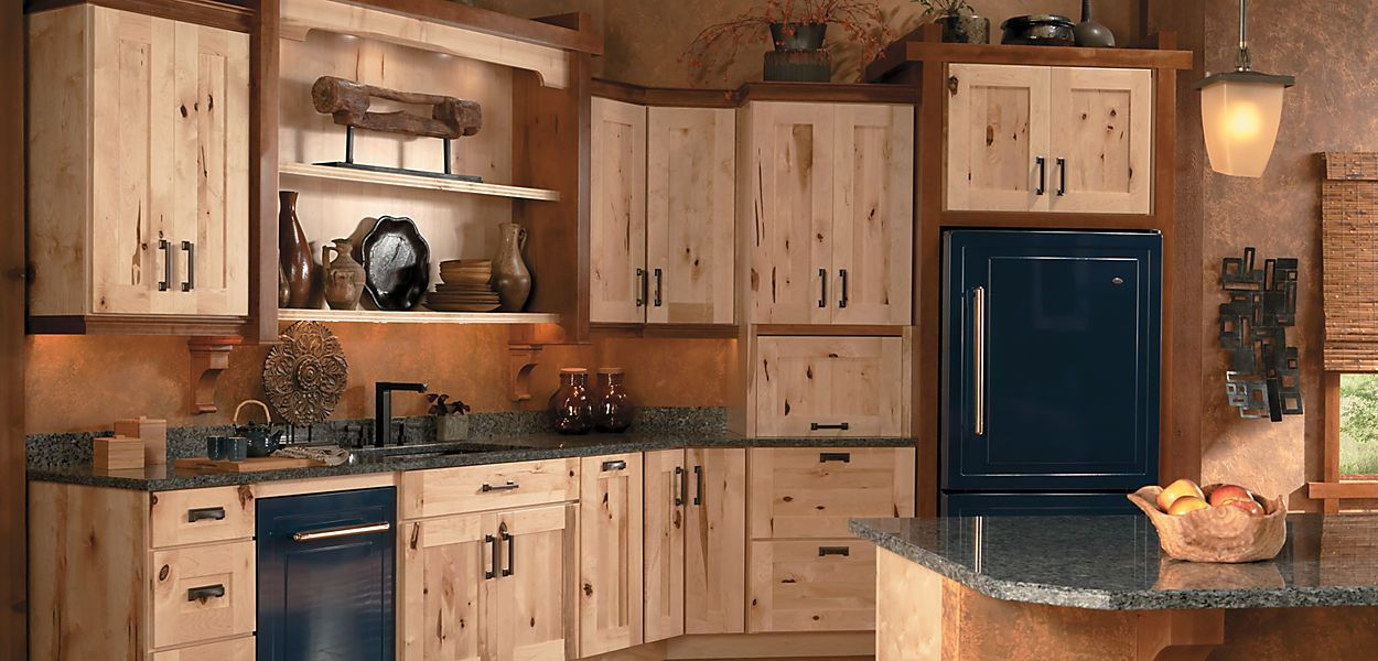 Schuler Cabinetry Lowes Holbrook Rustic Maple