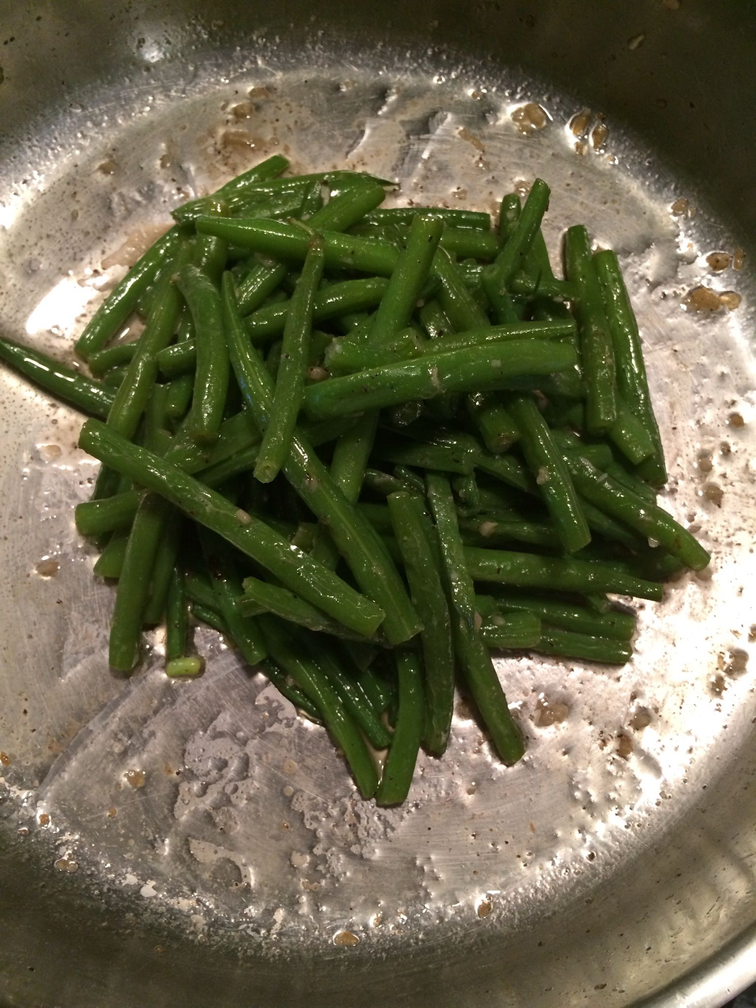 Cocinar Judias Verdes How To Make Sautéed Garlicky Green Beans Recipe In 2019