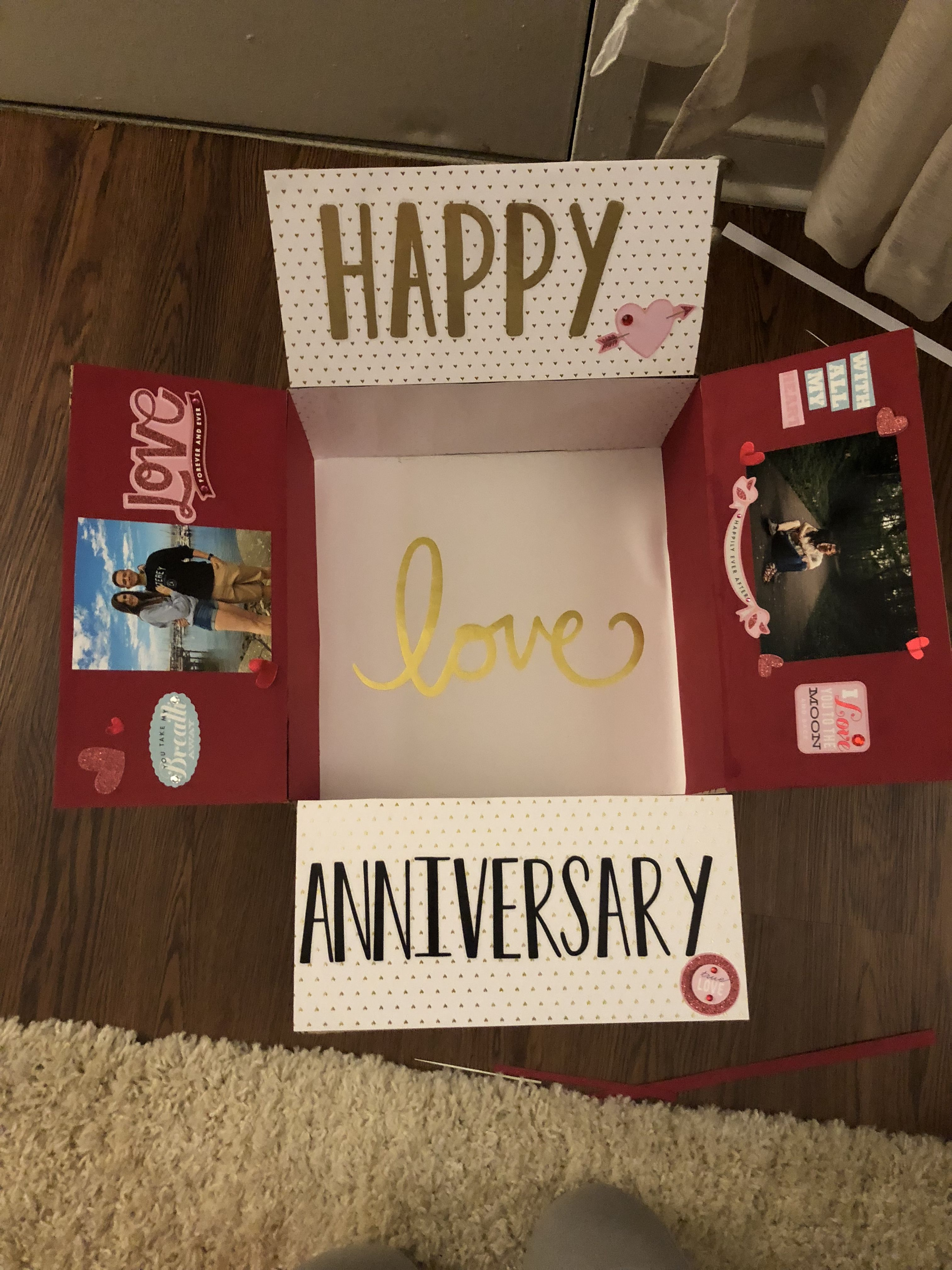 Anniversary Care Package Military Care Package Diy Anniversary Gift Anniversary Care Package Anniversary Gifts