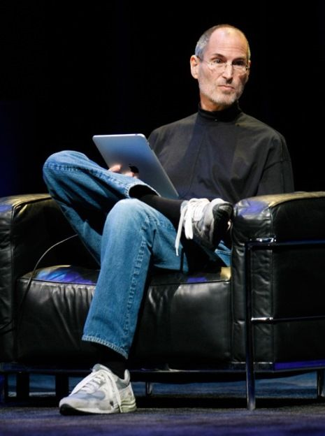 steve jobs new balances