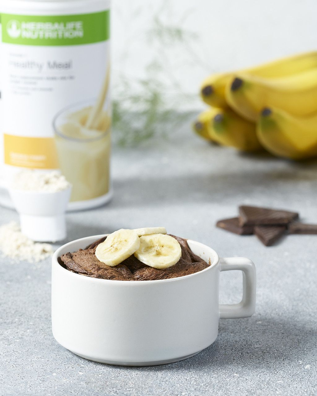 Protein Banana Cream and Chocolate Microwave Mug Cake ...