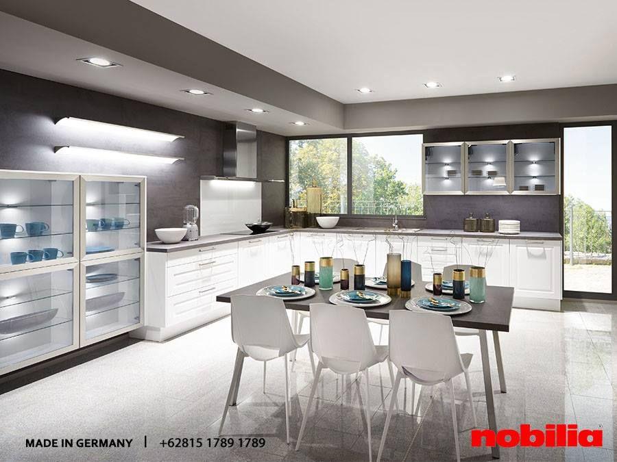 Nobilia Kitchen Clear, sleek forms and a classical colour concept - nobilia küchen berlin