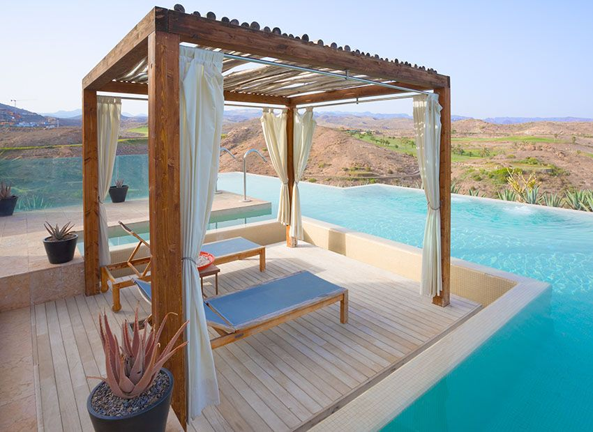 25 Exotic Pool Cabana Ideas (Design U0026 Decor Pictures) | Pool Cabana, Swimming  Pools And Cabana