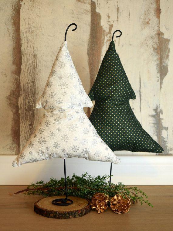 Christmas Tree, Christmas Ornaments, Christmas Decorations, SET OF 2