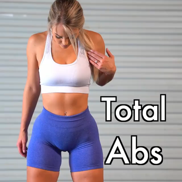 TOTAL ABS 🔥 -   13 fitness Goals abs ideas