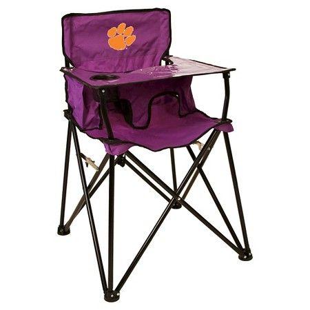 Ncaa Clemson Tigers Ciao Babyportable High Chair Portable High