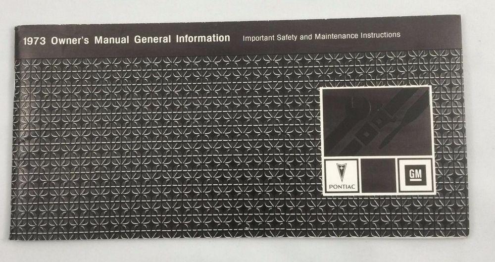 owners manual general guide